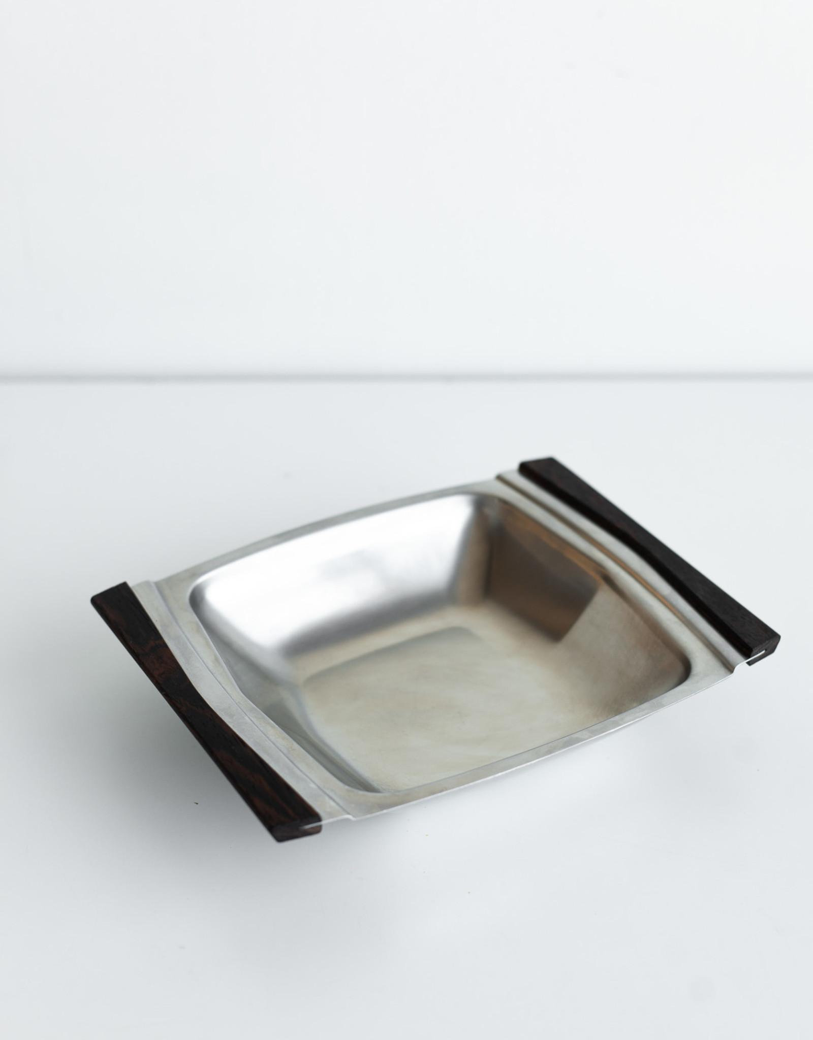 Autour de la Table Vide Poche en acier inoxydable