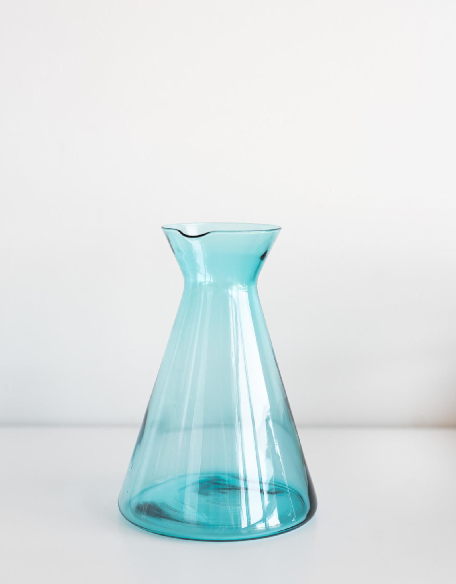 Autour de la Table Carafe Bleu