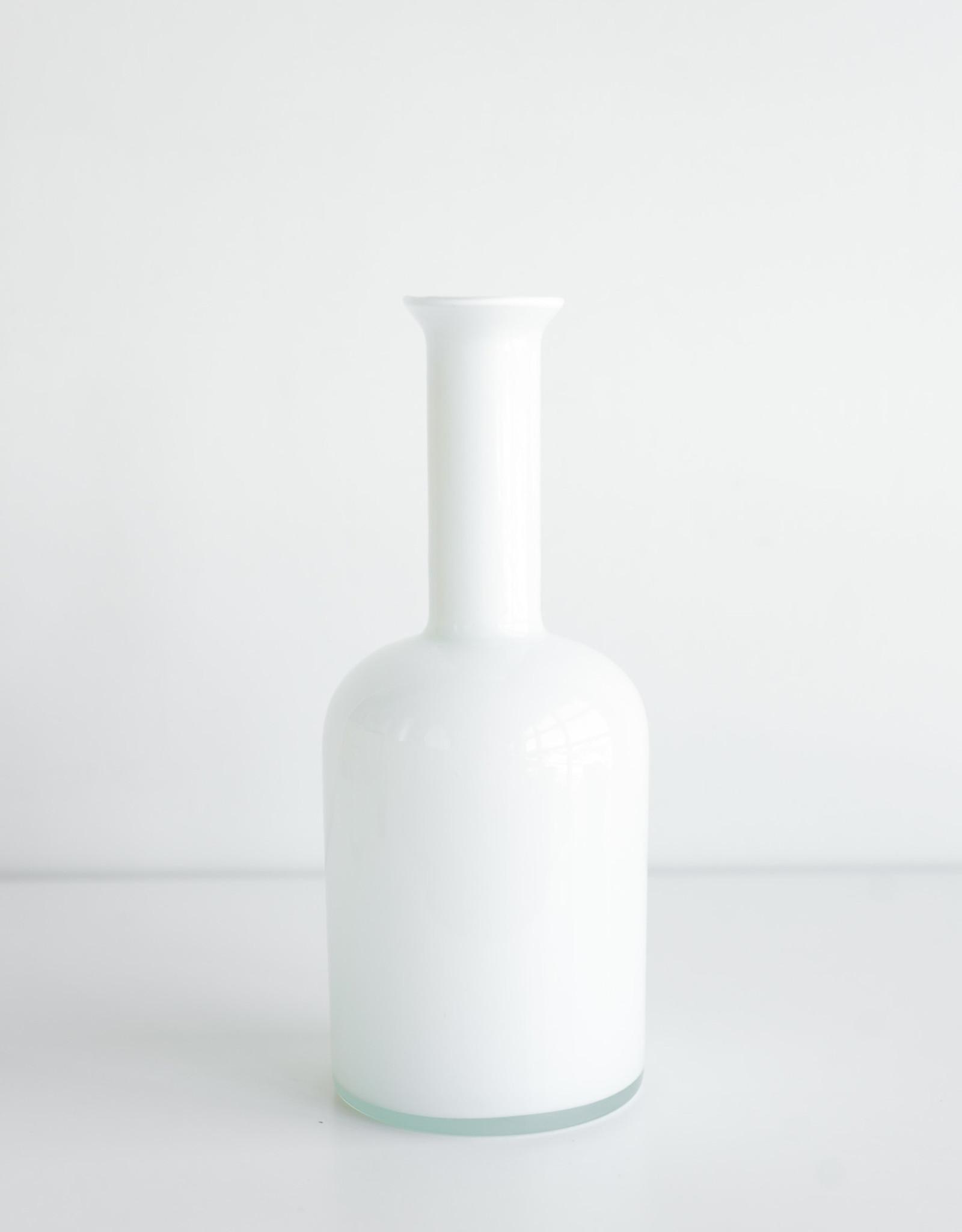 Autour de la Table Vase Blanc