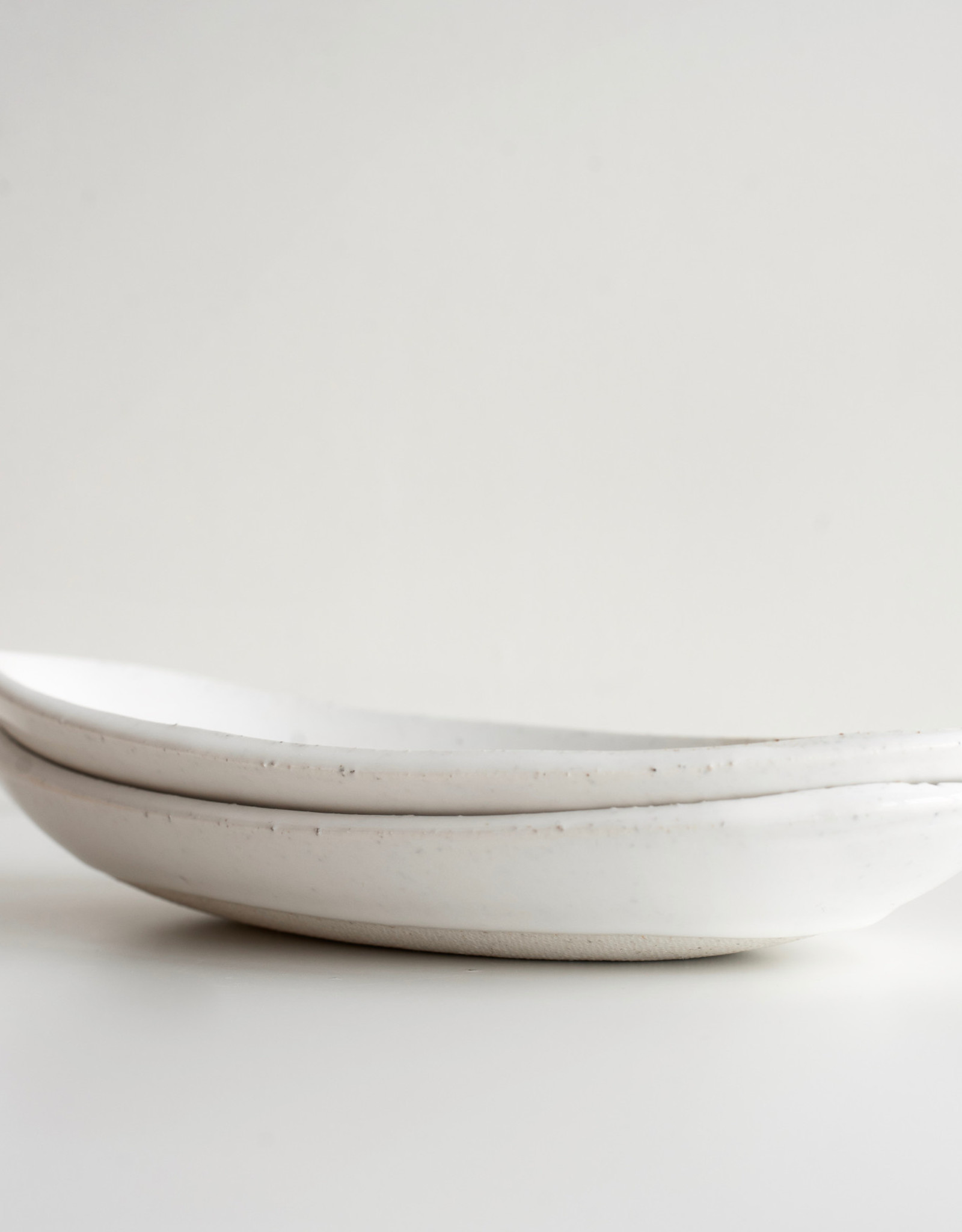 Atelier Tréma Assiette ovale avec motif