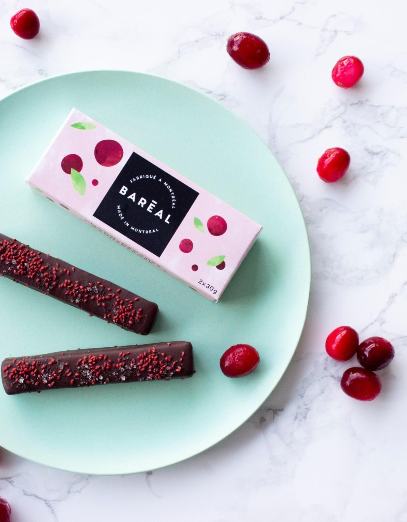 Baréal Chocolat Pacanes Canneberges