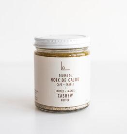 Logan Petit Lot Beurre de cajoux café et érable