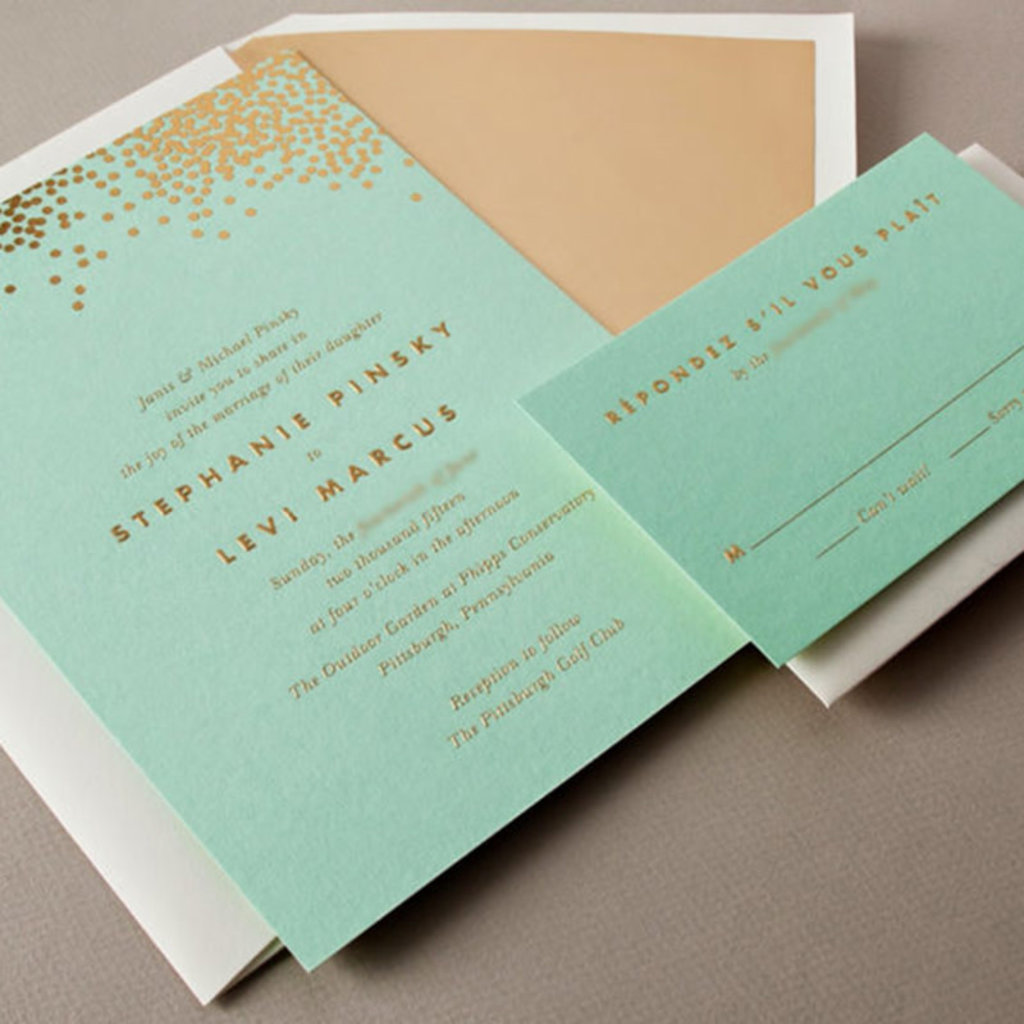 Pennysmiths Invitations Spehanie & Levi