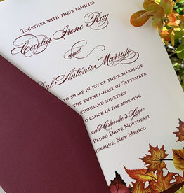 Pennysmiths Invitations Falling in Love