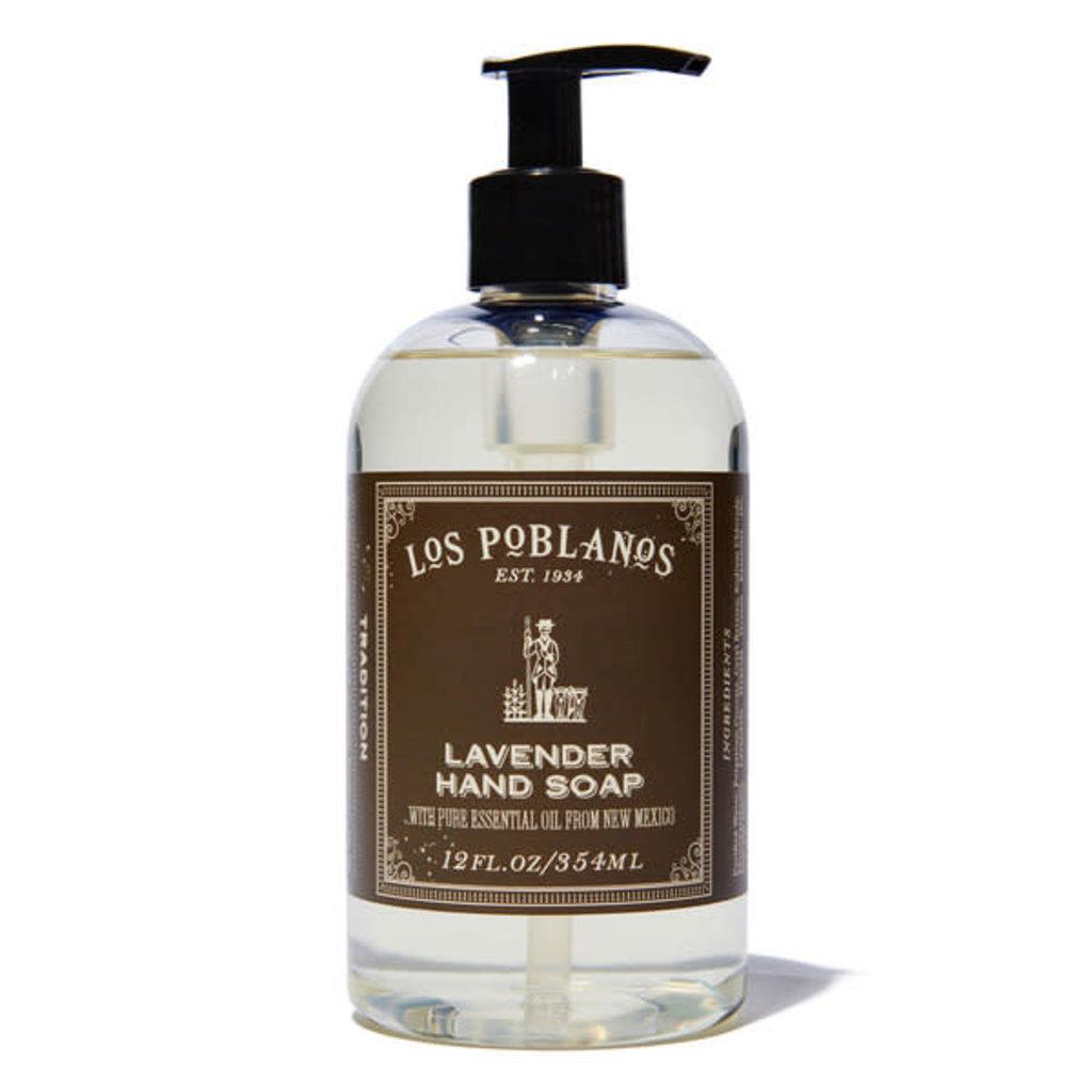 Los Poblanos Lavender Liquid Hand Soap, 12oz  Los Poblanos