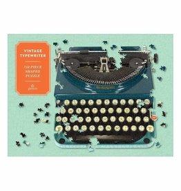 Chronicle Puzzle 750 Shaped Vintage Typewriter