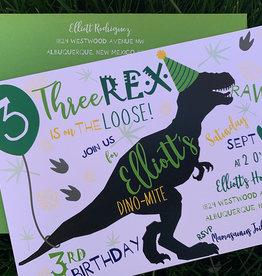 Pennysmiths Invitations Three Rex