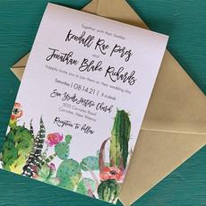 Kendall Cactus Invitation