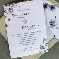 cotton boughs invitation