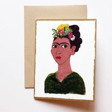 Frida card set - 2 cards of each image, 8 total