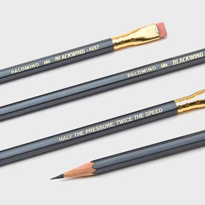 Blackwing Palomino Blackwing 602 Firm 12 Pencils Grey
