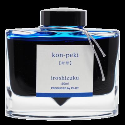 Iroshizuku Kon-peki Deep Blue Iroshizuku Ink