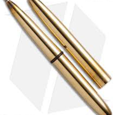 Fisher Brass Lacquered Bullet Space Pen - Gift Boxed