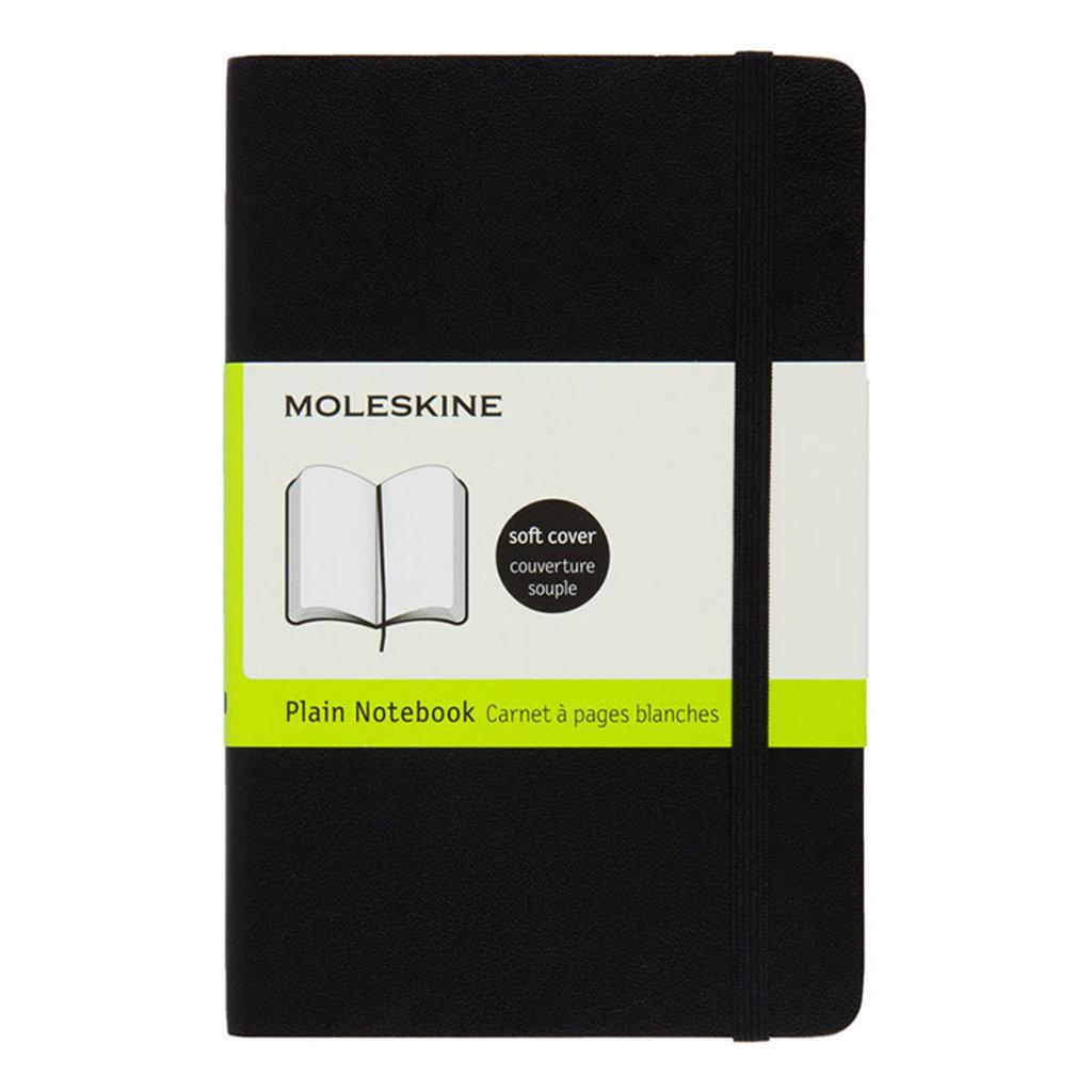 Moleskine lg black blank HardC Moleskine