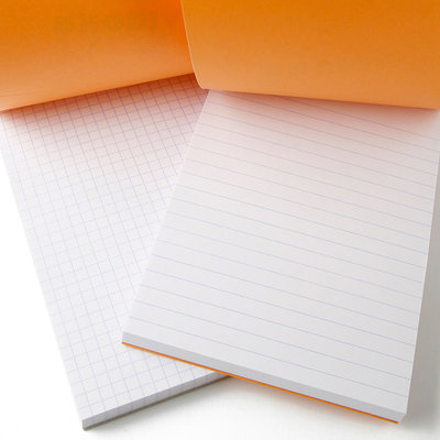 Rhodia RHODIA PAD GRAPH 6X8-1/4 ORANGE