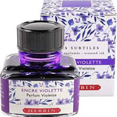 Herbin Violet/ Purple Scented Ink