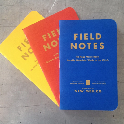 Field Notes Field Notes State Fair New Mexico 3-pack
