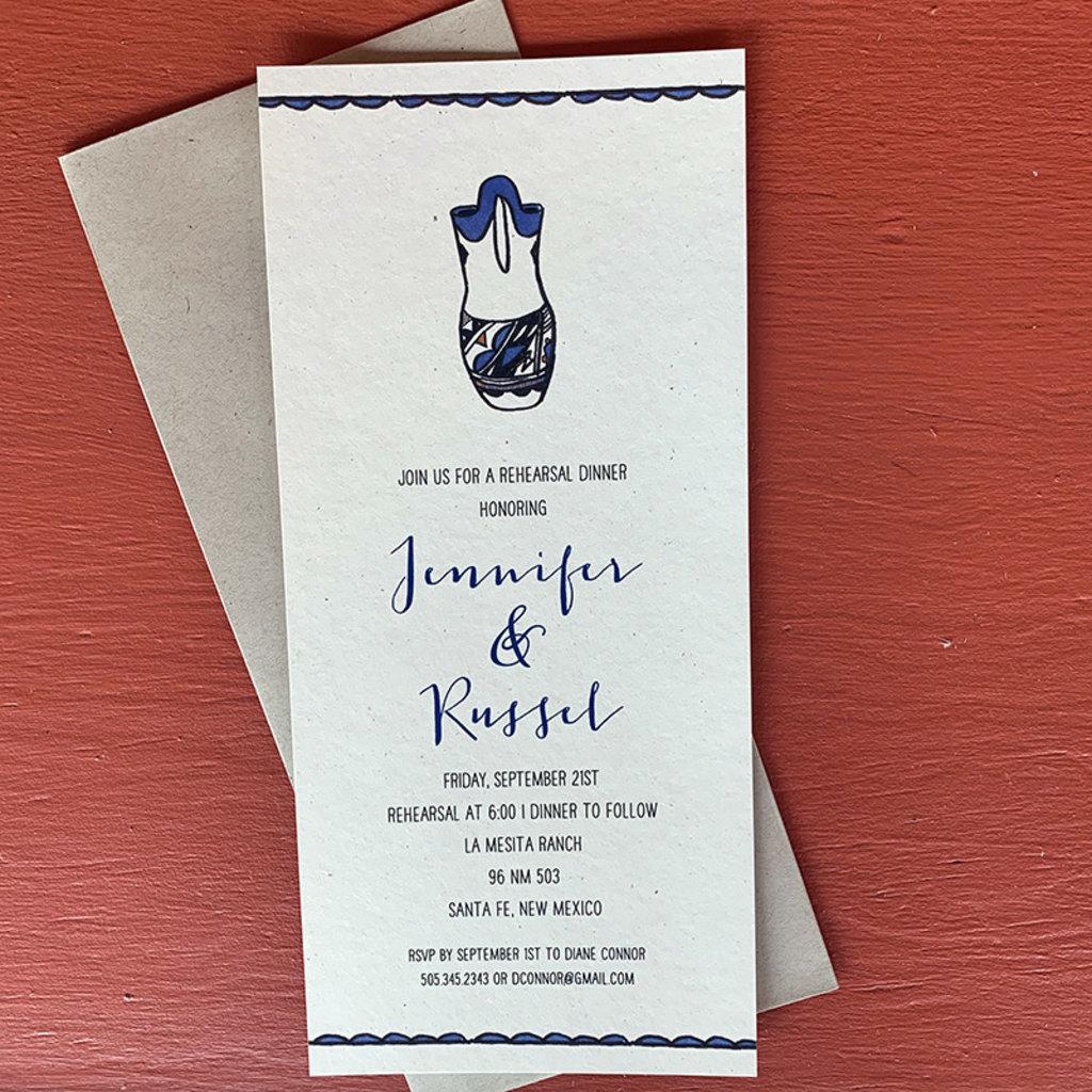 Russel Vase Invitation