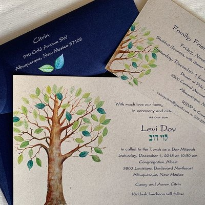 Tree of Life Invitation