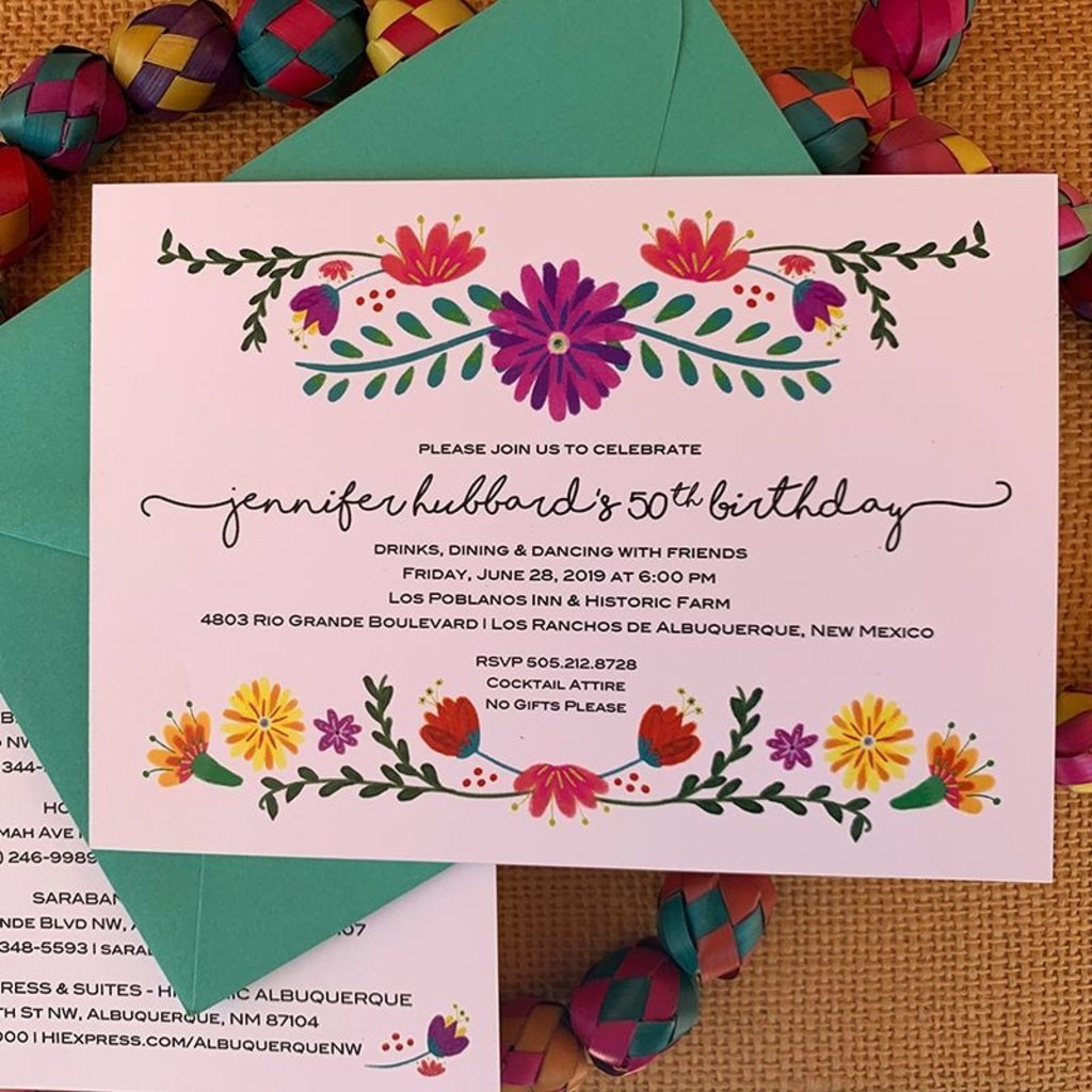 Estella Floral Invitation