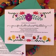 Estella Floral Invitation