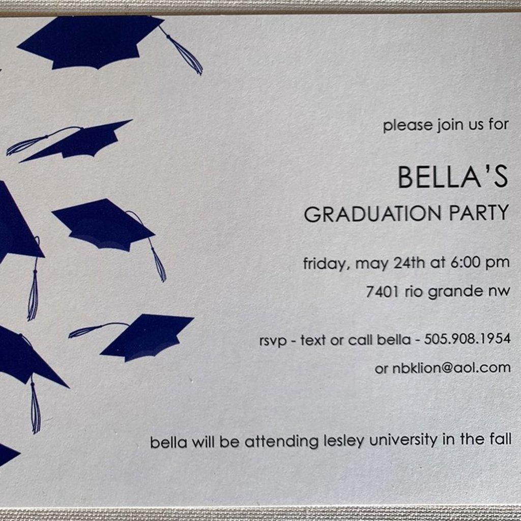 Hats Off! Invitation