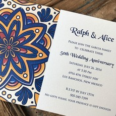 Talavera Tile Invitation