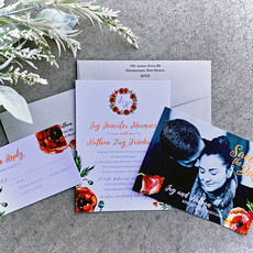 Poppy Perfect Invitation