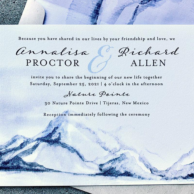 White Summit Invitation