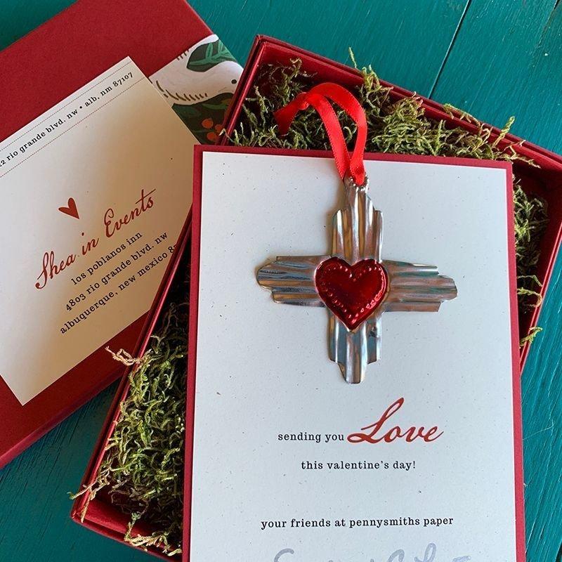 Zia in Box Valentine