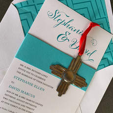 Tin Zia Wedding Invitation