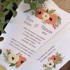 Tag & Co Ellen & Norman Wedding Invitation