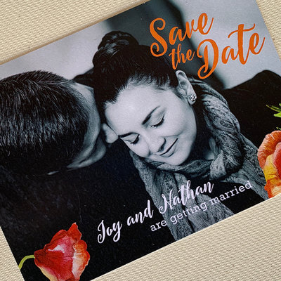 Joy & Nathan Save the Date
