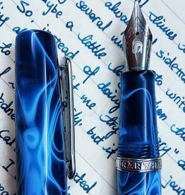 Narwal Narwhal Original Fountain Pen Fine Poseidon Blue