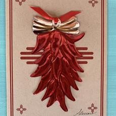 Alessaro Designs Chili Ristra Ornament Card