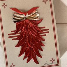 Chili Ristra Ornament Card