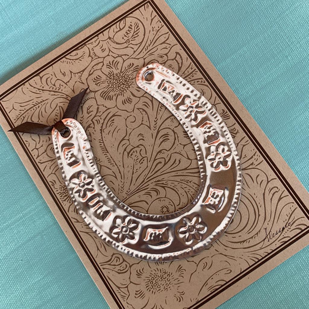 Horseshoe Ornament Card