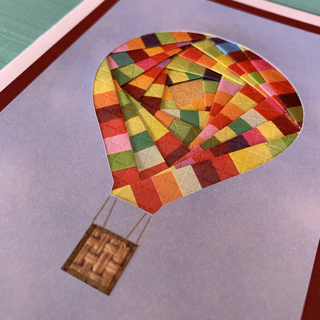 Cards by Kathleen Hot Air Balloon Kathleen Cards 8.95