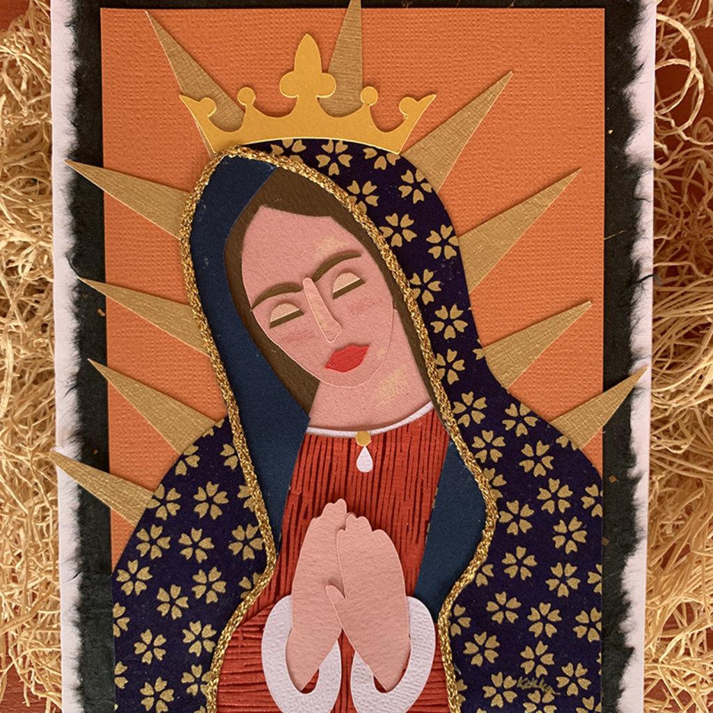 Cards by Kathleen Handmade Saint Card Set