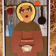 Handmade Saint Card Set