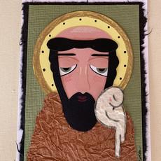 Saint Francis Collage Card