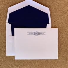 Embossed Graphics Arabesque Card set of 25