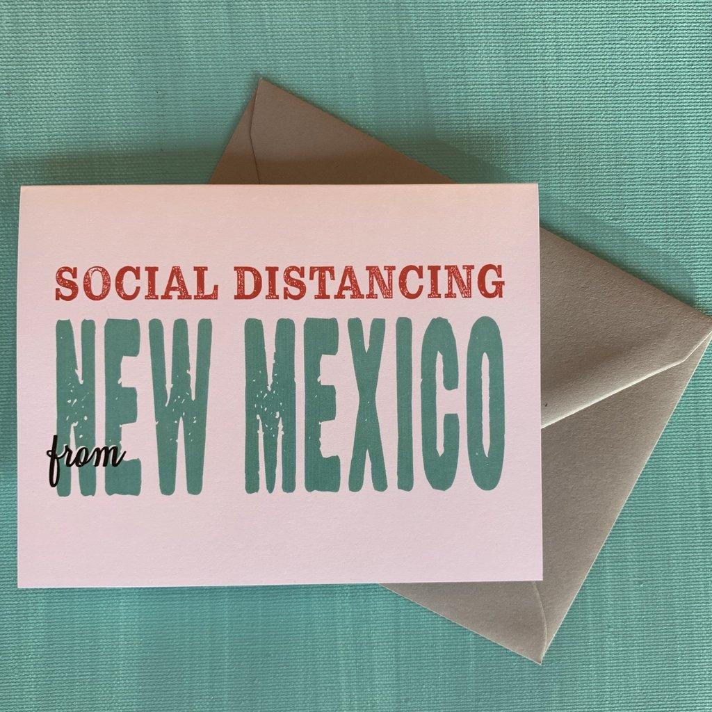 Pennysmiths Social Distancing Card