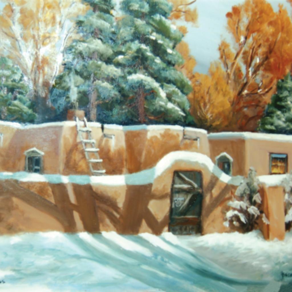 Santa Fe Shadows Holiday Cards