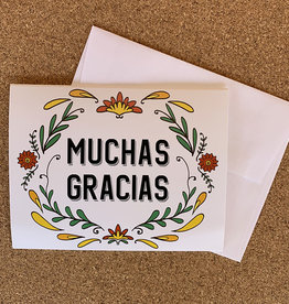 Pennysmiths Muchas Gracias Notecard Set of 10