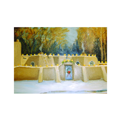 Christmas Eve in Santa Fe Holiday Cards