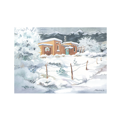 High Desert Christmas Holiday Cards