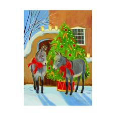 The Burro Christmas Tree Holiday Cards