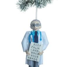 Dr. Fauci Felt Ornament