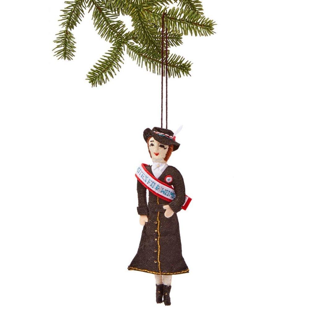 Susan B. Anthony Felt Ornament